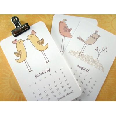 Wall Calendar (Single Page)